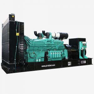 Sascom PI Open Type Gensets diesel power generator