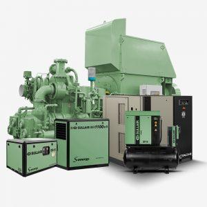 Sascom Sullair Air Compressors